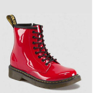 Dr. Martens 'Delaney' Patent Leather Boots (13)